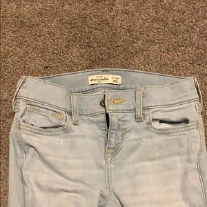Abercrombie Kids Light Wash Jean